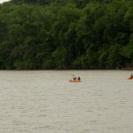 Kayaking on the Brazos River near Waco Mammoth NM