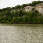 The Brazos River not too far from Waco Mammoth NM