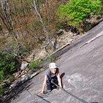 Fun day climbing