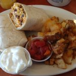 Fabulous Chorizo Egg and Cheese Burrito