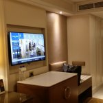 Newly renovated rooms of Dusit Hotel.  They also provide very fragrant toiletries!  This hotel i