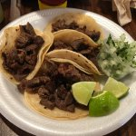 The best tacos de asada I have ever have!! (and I've eaten a ton of them!)