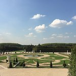 """French gardens and """"parterres""""."""