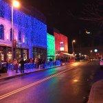 Hensville in December