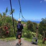 Ziplines get gradually longer and more challenging