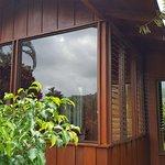 Small cabana style room