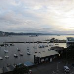 Sunrise at the Copthorne Hotel Wellington Oriental Bay