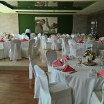 L'Olivo Restaurant wedding tables setup