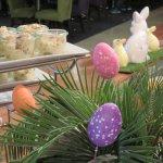 Easter morning breakfast at the Novotel