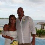 Our wedding day at Nasama ..beautiful
