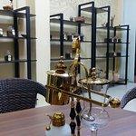 Вакуумный балансирный кофейный сифон. (1840 г., реплика).