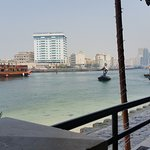 Dubai Creek from one of the nice restaurants