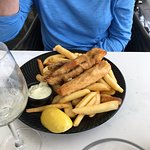 Fish,chips and mussels