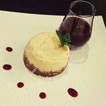 Cheesecake Vanille et son Coulis Fruits Rouges