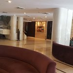 This is the lobby, which was quite attractive