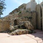 scorcio di resti antichi nei pressi del bastione Martinego