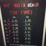 Hot water beach tide times