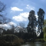 The large Chartwell lake