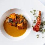 Paneer Rogan Josh- Classic and Contemporary Cottage Cheese, Rogan Jus,