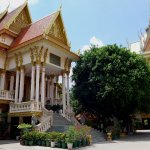 Herb Cafe is located acros the road from Wat Lanka