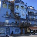facciata dell'hotel lato mare