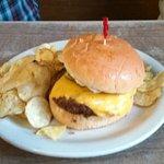 1.4lb. cheeseburger, also avaiable as a 1/2 lb burger.or burger basket 4/20/17