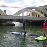 Paddleboarding lesson with Rainbow Watersports