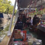Hen party boat trip - April 2017