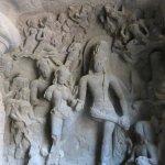 Elephanta caves-Marriage of Shiva and Parvati