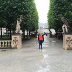 Archway of statues from Sound of Music scene