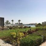 Garden at Fairmont Bab Al Bahr Abu Dhabi