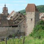 Maison de vigneron et Tour des voleurs à Riquewihr
