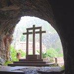 Panorámica del la Basílica desde la cueva