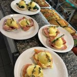 Papii cafe Breakfast brunch!  Eggs Papii every day !!!