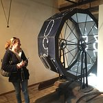 Our wonderful guide talks us through 15th century technology