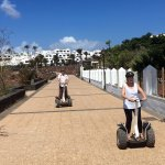 Segway fun at Playa Blanca