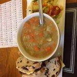 Soup and 'Bryson's Signature Sandwich'