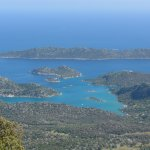 Nearby view over Kekova