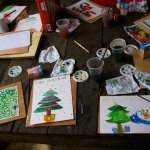 Watercolor painting workshop.
