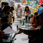 Art workshop during the Tam-awan International Arts Festival.