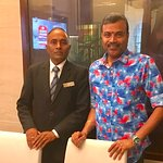 With Ashok, Kitchen Stewarding Manager
