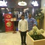 With Brand Master Chef Inder Dev
