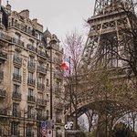 Torre Eiffel desde la Calle