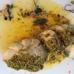 Pistachio Crusted Fillet of Grouper