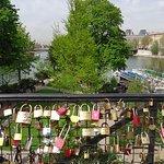 Le square du vert galant et les cadenas de l'amour