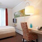 Geräumige Einzelzimmer im H+ Hotel München City Centre