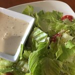 Worst Caesar dressing- inedible