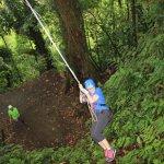 the tarzan swing!