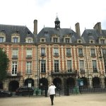 Buildings at Place des Vosges, Le Marais.