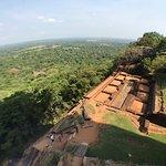 Photo de Rocher du lion de la Citadelle de Sigîrya